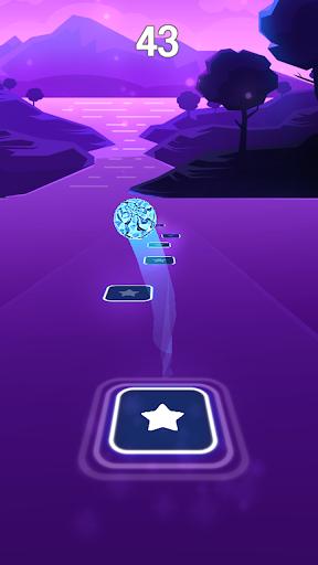 dance monkey - tones and i magic beat hop tiles screenshot 1