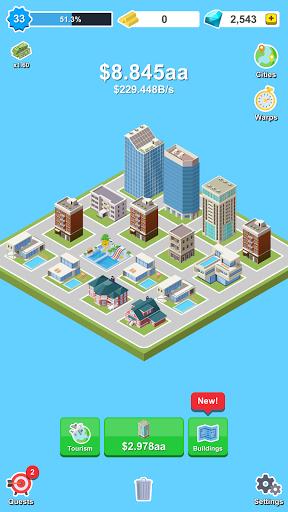 Merge City - Idle Clicker Game screenshots 5
