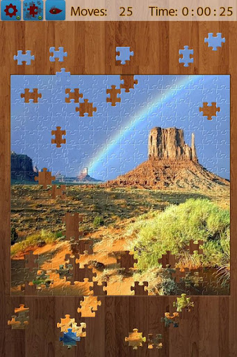 Rainbow Jigsaw Puzzle apkmartins screenshots 1