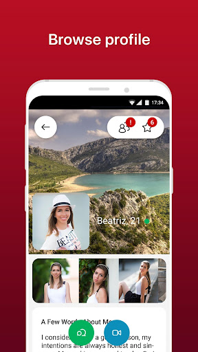AmoLatina: Find & Chat with Singles - Flirt Today 4.5.0 Screenshots 2