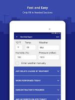 Construction Daily Log App