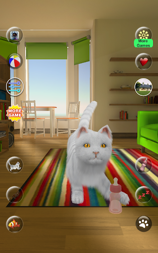 Talking Cute Cat screenshots 9