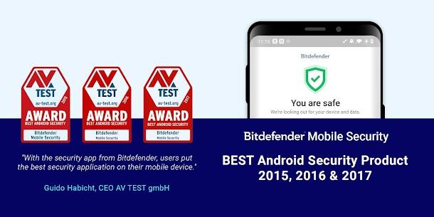 Bitdefender Mobile Security & Antivirus Mod Apk (6 Month Free License) 1