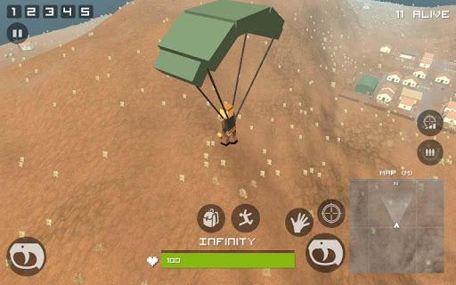 Grand Pixel Royale Battlegrounds Mobile Battle 3D  screenshots 11