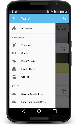 Wallet 2.3.5 Screenshots 3