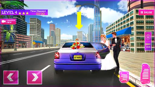 VIP Limo Service - Luxury Wedding Car Driving Sim https screenshots 1