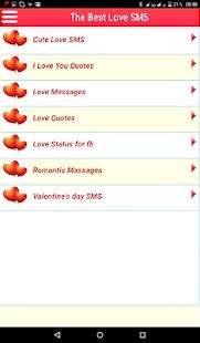 The Best Love SMS 6.0.5.0 APK screenshots 8