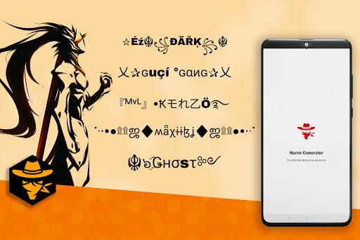 Symbols Creator - Nickname Generator for FF  Screenshots 1