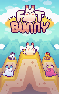 Fat Bunny: Endless Hopper Screenshot