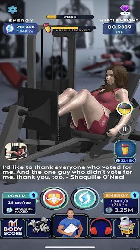Idle Workout ! modavailable screenshots 12