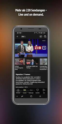ORF TVthek: Video on demand android2mod screenshots 2