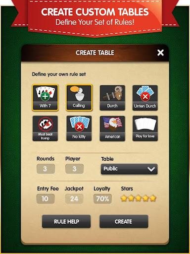 Pinochle (Free, no Ads) android2mod screenshots 10