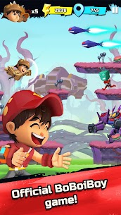 Download the latest version of BoBoiBoy Galaxy Run Mod Apk (Full) 2021 for Android 1