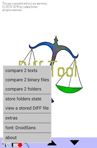 difftool the file compare tool screenshot 1
