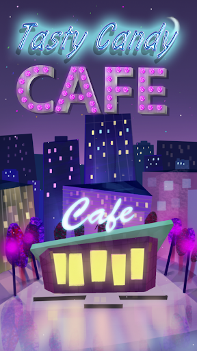 tasty candy cafe: match 3 game screenshot 2