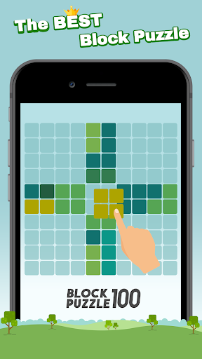 Block Puzzle 100 - Fill lines by tangram cube 3.3.0 screenshots 1
