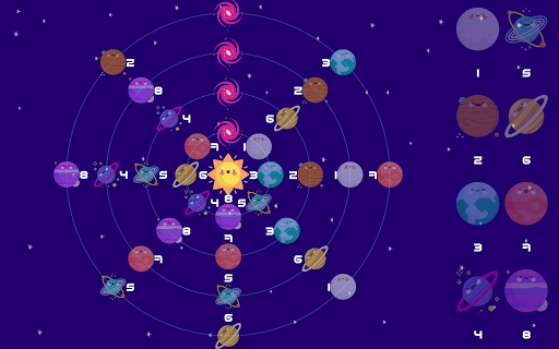 Orbit Balance - Puzzle game - Sudoku goes to space 1.13 screenshots 10