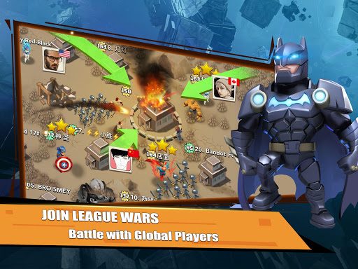 Rise of Superheroes:  Zombies Age - Empires Mobile screenshots 15