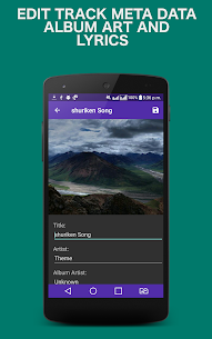 Mp3 Music Player PRO Cracked APK by AndroidRockers 5