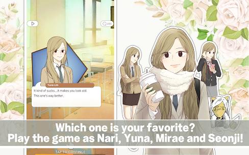 Odd Girl Out Interactive Visual Novel Game K-Toon Mod Apk 0.2.7434 8
