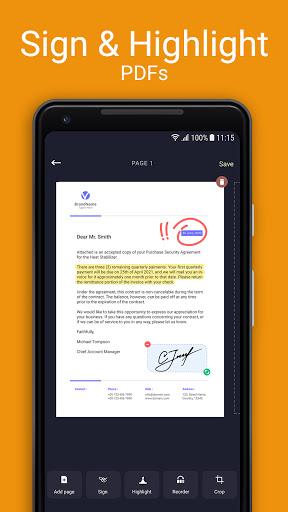 Scan Hero: Document to PDF Scanner App  Paidproapk.com 2