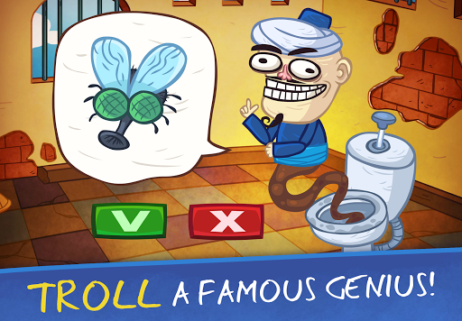 Troll Face Quest: Video Games 2 - Tricky Puzzle 2.2.2 screenshots 1