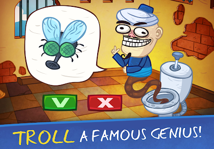 Free Troll Face Quest  Video Games 2 – Tricky Puzzle Apk Download 2021 3