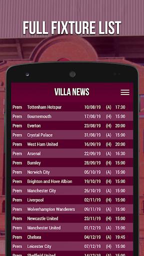 villa news - fan app screenshot 3