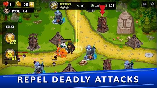 Tower Defense Games – GOLDEN LEGEND MOD APK 3.1 (Unlimited Diamonds) 11