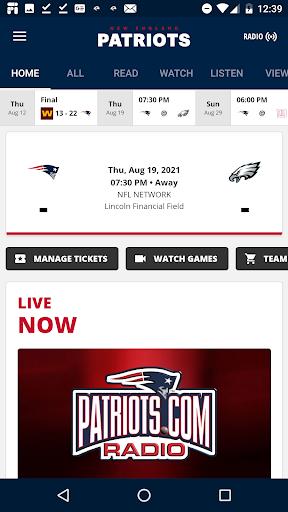 New England Patriots apktram screenshots 1