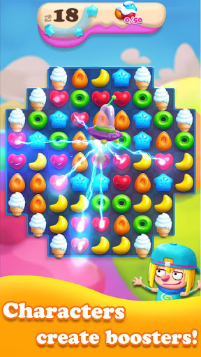 Crazy Candy Bomb - Sweet match 3 game 4.6.1 screenshots 1