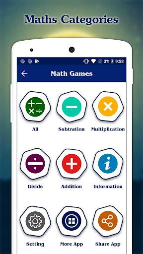 Math Games - Maths Tricks  screenshots 1