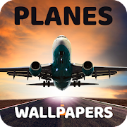 Wallpaper with planes