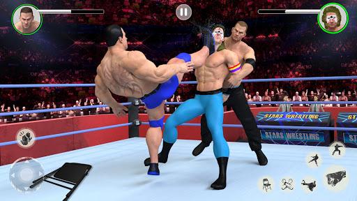 Men Tag Team Wrestling 2019: Fighting Stars Mania 1.0.2 Screenshots 2