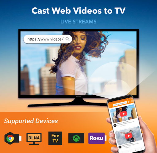 Cast to TV: Chromecast, Roku, Fire TV, Xbox, IPTV 1.3.1.3 Screenshots 1