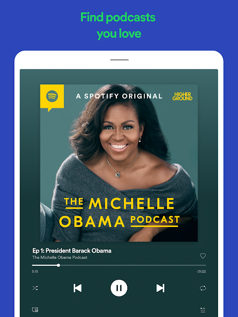 Spotify: Listen to new music and play podcasts screenshot 9