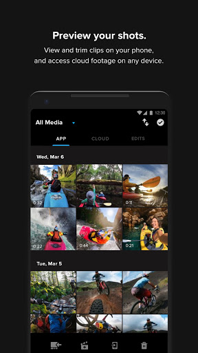 GoPro: Quik Video + Photo Editor 7.3 Screenshots 3