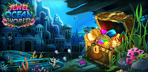 Jewel ocean world: Match-3 puzzle  screenshots 1