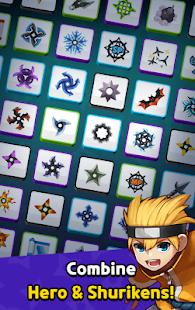 Ninja Clash - Random Merge, grow ninja PVP Defense