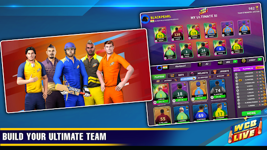 WCB LIVE Cricket Multiplayer:8 Players Cricket PvP 3