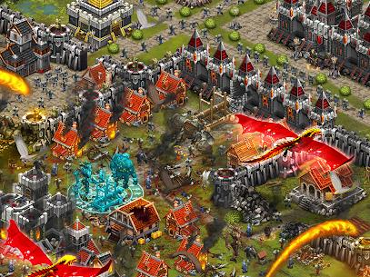 Throne Rush MOD APK 5.25.0 (Unlimited Gems/Golds foods) 5
