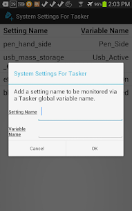 System Settings for Tasker For Pc – Free Download – Windows And Mac 2