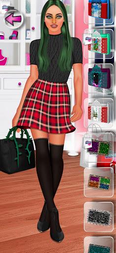 High Fashion Clique - Dress up & Makeup Game Girl 2.7 screenshots 4
