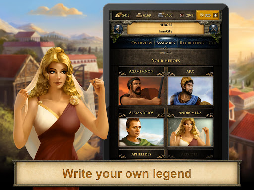 Grepolis - Divine Strategy MMO apkmr screenshots 5
