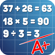 Math problems: mental arithmetic game