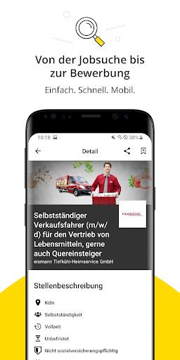 Jobbu00f6rse - Jobs finden auf meinestadt.de android2mod screenshots 3