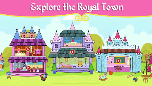 My Tizi Princess Town - Doll House Castle Game 2.1 Screenshots 2
