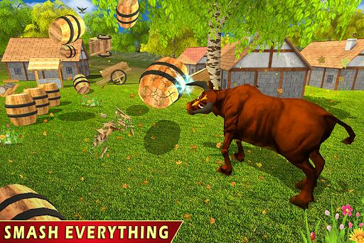 Wild Bull Family Survival Sim apkpoly screenshots 4