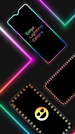 Edge Lighting Colors - Round Colors Galaxy  Screenshots 1