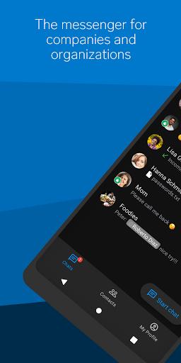 Threema Work. Secure Enterprise Messaging  screenshots 1